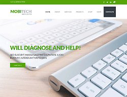 Repairs Wordpress Theme - MegaWP Mobitech