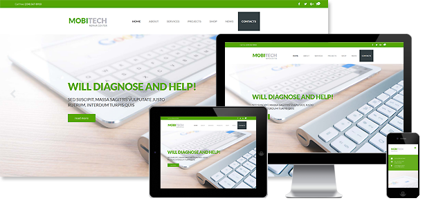 MegaWP Mobitech - Repairs Wordpress Theme