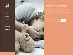 Joomla! Community Template - PT Global Charity