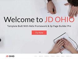 Business Joomla Template - JD Ohio
