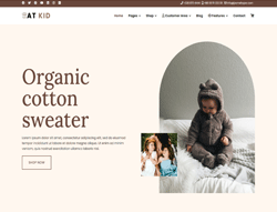 Kid Store Joomla template - AT Kid