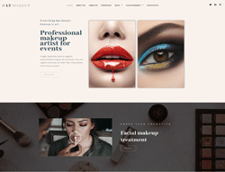 Cosmetics Store WordPress Theme - LT Makeup
