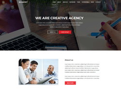 Onepage Multipurpose HTML Template - Mamsky