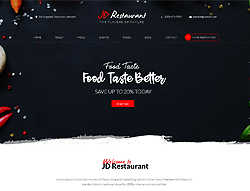 Restaurant Joomla Template - JD Restaurant