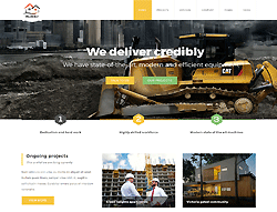 Construction Joomla Template - PT Builder