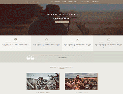 Outdoor Joomla Template - LT Hunting