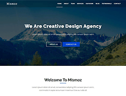 Onepage Multipurpose HTML Template - Mismoz