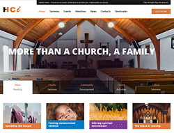Social Joomla! Template - PT Holy Church