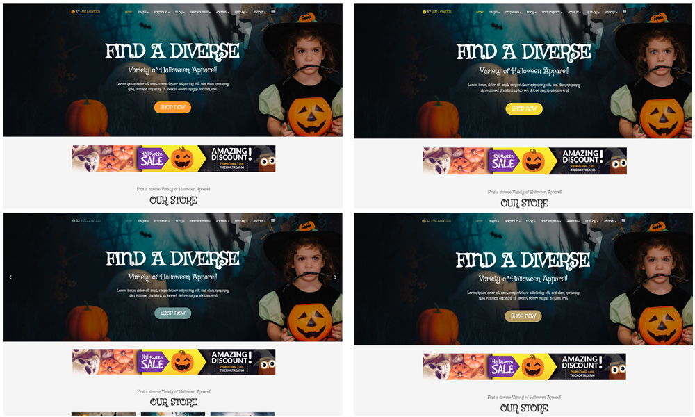 AT Halloween Joomla template Color Styles