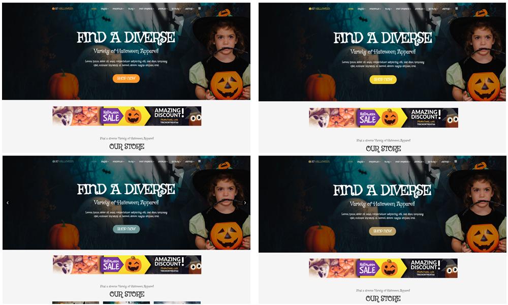 AT Halloween Joomla template Color Styles