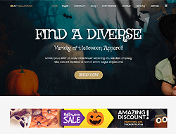 eCommerce Joomla Template - AT Halloween