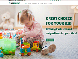 Toy Woocommerce WordPress Theme - WS Baby Toy