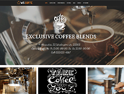 Coffee Woocommerce WordPress Theme - WS Coffee