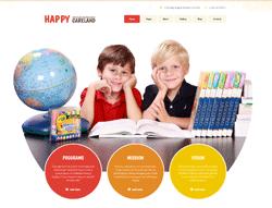 Daycare Joomla Template - 002104