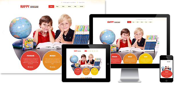 Childcare Joomla Template