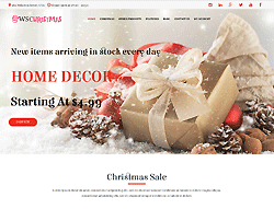 Woocommerce WordPress Theme - WS Christmas