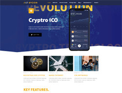 Cryptocurrency Joomla Template - LT Bycoin