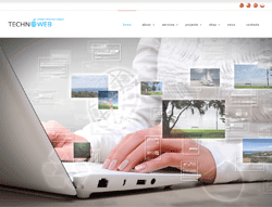 Business Wordpress Theme - MegaWP TechnoWeb