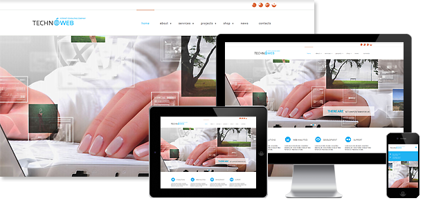 MegaWP TechnoWeb - Business Wordpress Theme