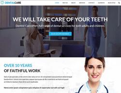 Dental Clinic Wordpress Theme - DentalCare
