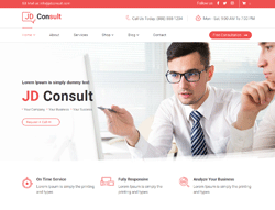 Multipurpose eCommerce Joomla Template - JD Consult