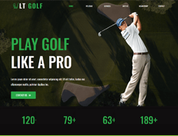 Sport Joomla Template - LT Golf