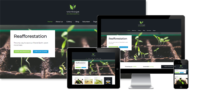 PT VANTAGE - DRAG AND DROP JOOMLA TEMPLATE