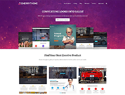 Marketplace WordPress Theme - Cherry Theme