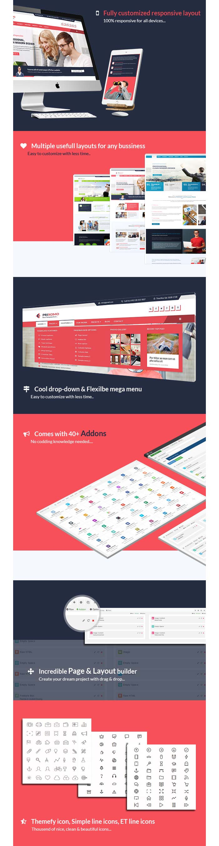 Prixomo Business Joomla! template