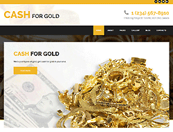 Cash for Gold Joomla! Template - 002105