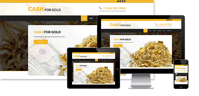 CASH FOR GOLD JOOMLA! TEMPLATE