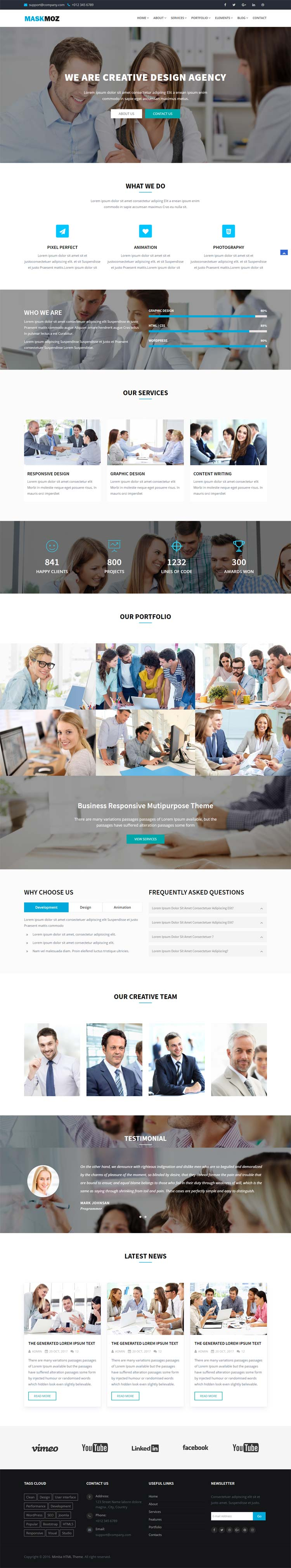 Multipurpose Business HTML Template