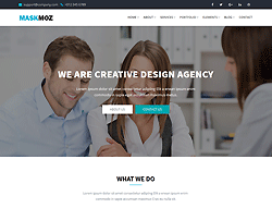 Multipurpose HTML Template - Maskmoz