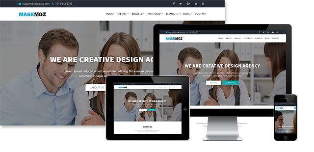MASKMOZ - MULTIPURPOSE HTML TEMPLATE