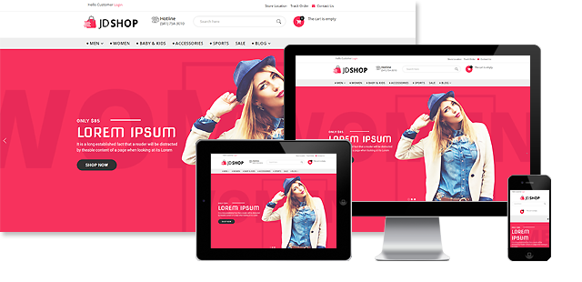 JD SHOP - ADVANCED JOOMLA ECOMMERCE TEMPLATE