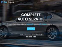 Services WordPress Theme - Car Repair