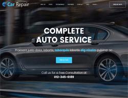 Services WordPress Theme - Car Repair
