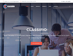 Business Agency WordPress Theme - Classifio