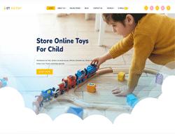 Toy Store Joomla Template - ET KidToy