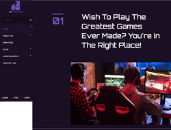 Responsive Gaming Joomla! Template - ET Gaming