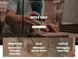 Equipment Joomla Template - ET ETool