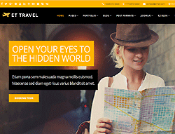 Travel Agency Joomla Template - ET Travel