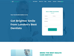 Medical Joomla Template - ET Metrix