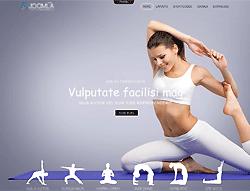 Yoga Center Joomla! Template - Mx_joomla162