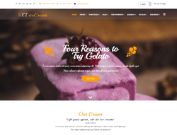 eCommerce Joomla Template - ET IceCream