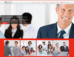 Business Joomla! Template - TD Vector