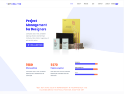 Business Joomla Template - ET Creative