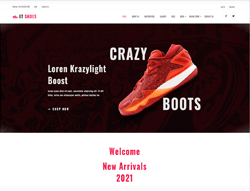 eCommerce Joomla Template - ET Shoes