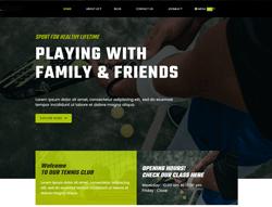 Sport Joomla Template - ET Tennis