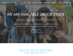Employment Joomla Template - ET Job Portal